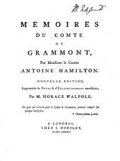 Mémoires du comte de Grammont: Numéro1