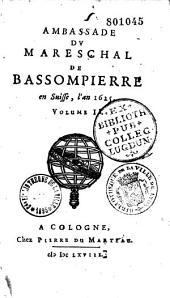 Ambassade en Espagne en 1621 et en d'autres états