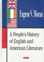 A People s History of English and American Literature PDF