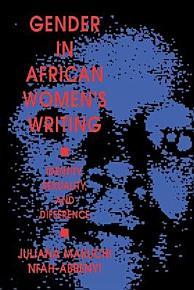 Gender in African Women s Writing PDF