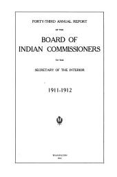 Annual Report of the Board of Indian Commissioners