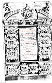 FRANCISCI DE MENDOÇA, OLYSIPONENSIS, E SOCIETATE IESV DOCTORIS THEOLOGI, IN EBORENSI ACADEMIA, quondam sacrarum Litterarum interpretis; Commentariorum IN IV. LIBROS REGVM.: Suis Indicibus pernecessariis insignitu. Tomus primus, Volume 1