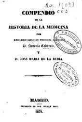 Compendio de la historia de la medicina: Volumen 1