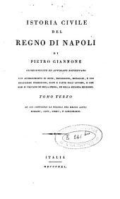 Istoria civile del regno di Napoli: Volume 3