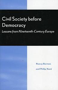 Civil Society Before Democracy PDF