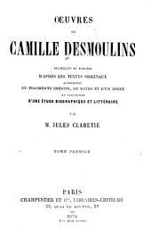 Oeuvres de Camille Desmoulins: Volume2