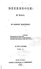 Deerbrook: A Novel, Volume 1
