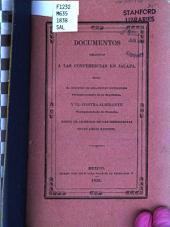 Documentos relativos a las conferencias en Jalapa: entre el Ministro de Relaciones Exteriores, plenipotenciario de la Republica, y el Contra-Almirante, plenipotenciario de Francia, sobre el arreglo de las diferencias entre ambas naciones