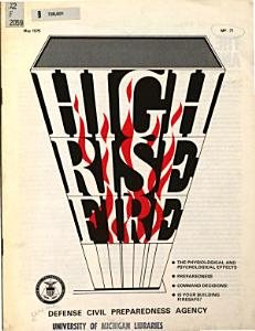 High Rise Fire Book
