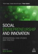 Social Entrepreneurship and Innovation