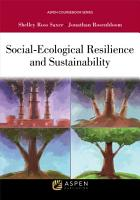 Social Ecological Resilience and Sustainability PDF