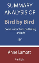 Summary Analysis Of Bird by Bird
