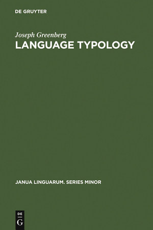 Language Typology