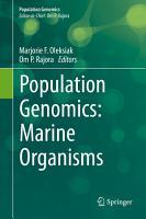 Population Genomics  Marine Organisms PDF