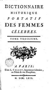 Dictionnaire historique portatif des femmes célèbres