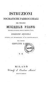 Istruzioni Dogmatice Parrocchiali del Teologo Michele Piano