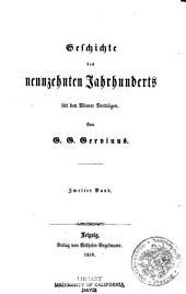 Geschichte des neunzehnten Jahrhunderts seit den Wiener verträgen: bd. III. Die reactionen von 1815-1820. 1856