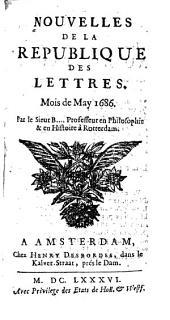 Nouvelles de la republique des lettres: Volume2