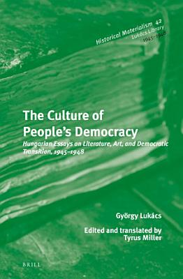 The Culture of People   s Democracy