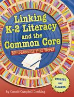 Linking K 2 Literacy and the Common Core PDF