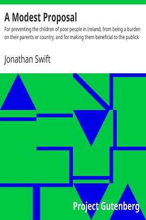 A Modest Proposal PDF