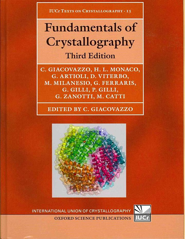Fundamentals of Crystallography