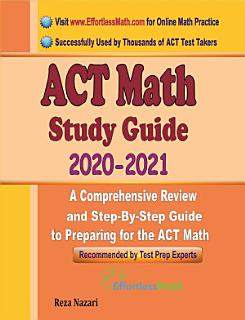 ACT Math Study Guide 2020   2021