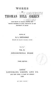 Philosophical works.- vol. III. Miscellanies and memoir