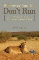 Whatever You Do  Don t Run PDF