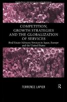 Competition  Growth Strategies and the Globalization of Services PDF
