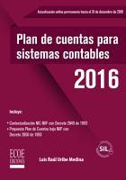 Plan de cuentas para sistemas contables en NIIF  PDF
