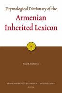 Armenian Inherited Lexicon