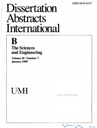 Dissertation Abstracts International PDF