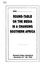 Roundtable on the Media in a Changing Southern Africa