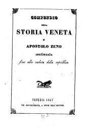 Compendio della storia Veneta di A. Z., continuata fino alla caduta della republica