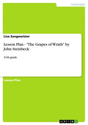Lesson Plan   the Grapes of Wrath by John Steinbeck
