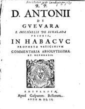 In Habacuc prophetae vaticinium commentaria