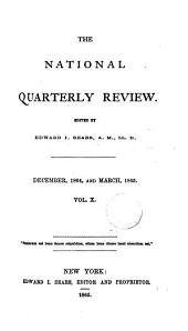 The National quarterly review, ed. by E.I. Sears: Volumes 10-11