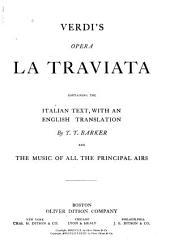 La Traviata: Containing the Italian Text