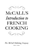 McCall's Introduction to French Cooking