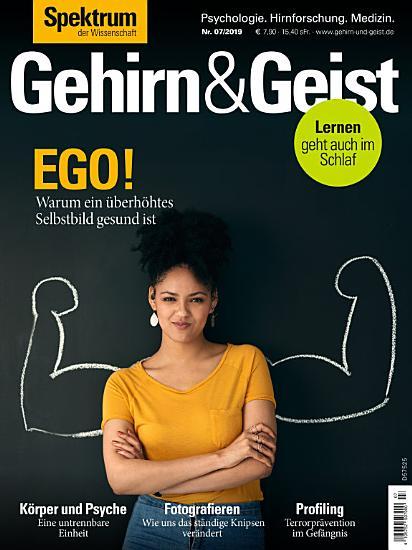 Gehirn Geist 7 2019   Ego  PDF