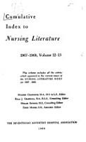Cumulative Index to Nursing Literature PDF