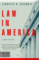 Law In America PDF