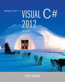 Starting Out with Visual C  2012 PDF