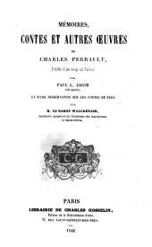 Mémoires: contes et autres œuvres