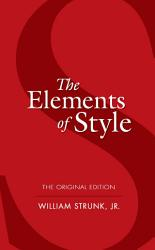 The Elements Of Style Book PDF