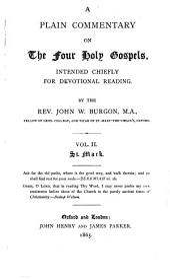 A Plain Commentary on the Four Holy Gospels: St. Mark