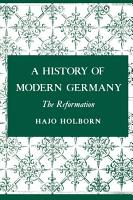 A History of Modern Germany  The Reformation PDF