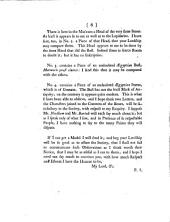 Observations Upon a Supposed Antique Bust at Turin: In Two Letters, Addressed to the Right Honourable the Earl of Macclesfield, President of the Royal Society. By Edward Wortley Montagu, Esq; F.R.S. Read Before the Royal Society, November 25, 1762, Volume 3