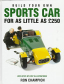 Build Your Own Sports Car for as Little as   250 PDF
